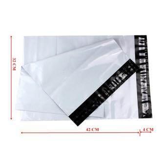 ซองไปรษณีย์พลาสติกสีขาว ขนาด 32x45 cm (1000 ใบ)