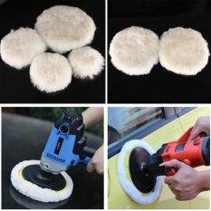 4 Pc Wool Buffing Pad Car Detailing Polishing Velcro Backing Buffer 125mm - Intl ราคา 235 บาท(-52%)