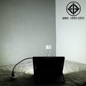 สปอตไลท์ 50W เสียบปลั้ก ใช้ได้เลย (220 V.)(แสง:ขาว)