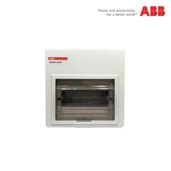 ตู้เบรกเกอร์ (คอนซูมเมอร์) ABB ขนาด 7 ช่อง พร้อมอุปกรณ์
