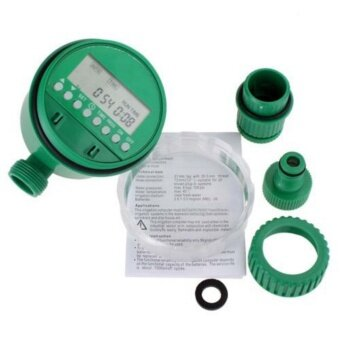 Allwin Home Water Timer Garden Irrigation Timer Controller Set Water Programs - intl