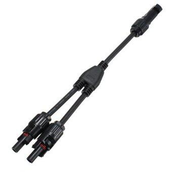 Audew MC4 Adapter Cable Branch Y Y2 Connectors Pair F/F/M and M/M/F For Solar Panels - Intl