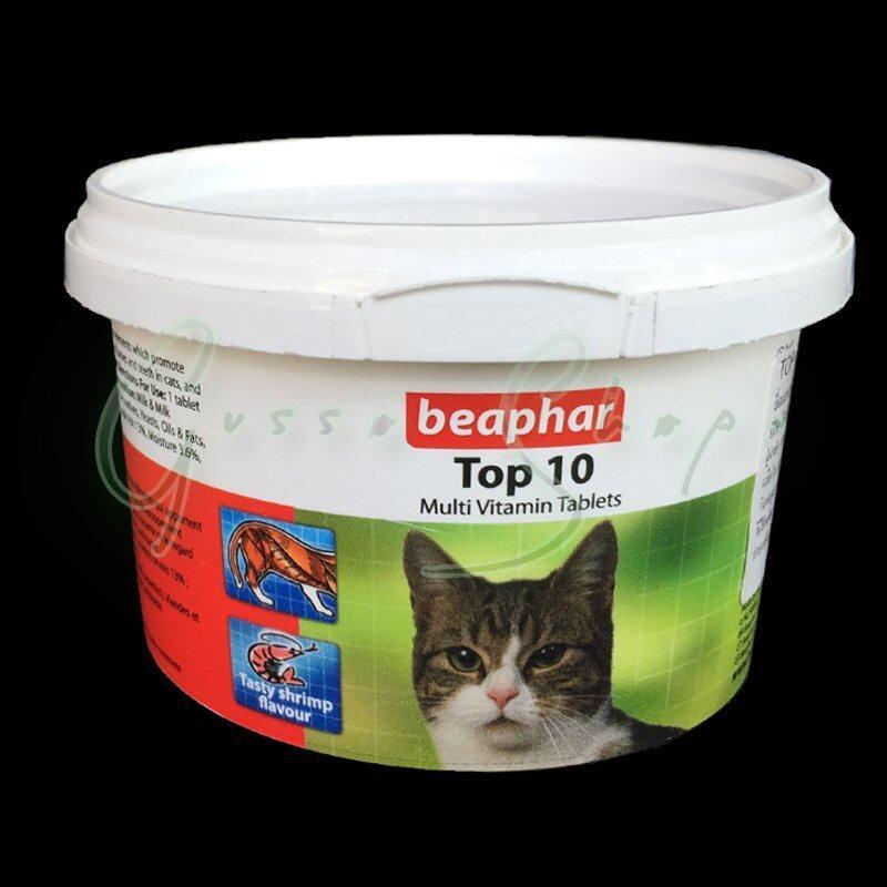 Beaphar Bulltus Store beaphar Top 10 Multi Vitamin Tablets GSP00083 ...