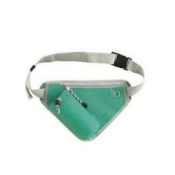 Bighome กระเป๋าใส่ขวดน้ำเก็บความเย็น กระเป๋าคาดอก กระเป๋าใส่ขวดน้ำ - สีเขียว
