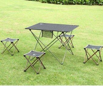 coconie Aotu Outdoor Folding Fold Aluminum Chair Stool Seat FishingCamping - intl