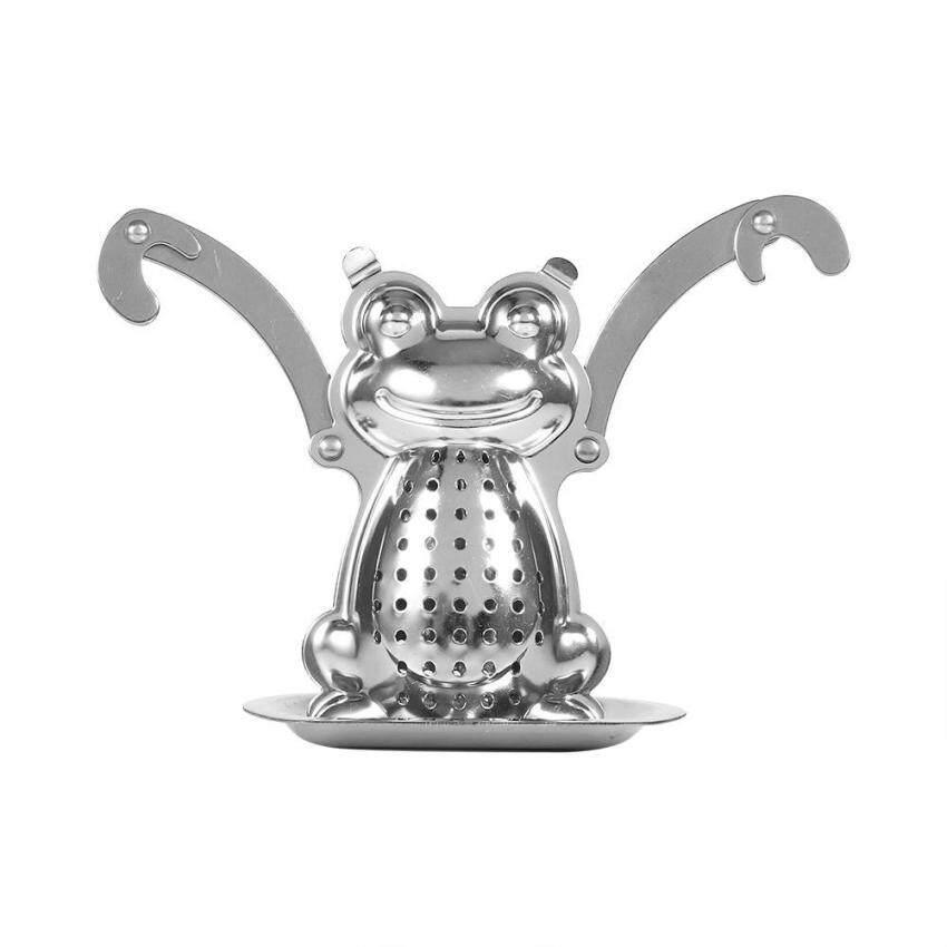 Cute Stainless Steel Loose Tea Leaf Filter Frog Shape - intl ...