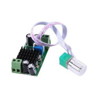 DC 5V to 24V 1A PWM Motor Speed Regulator Controller Switch For DC Fan Blower - intl