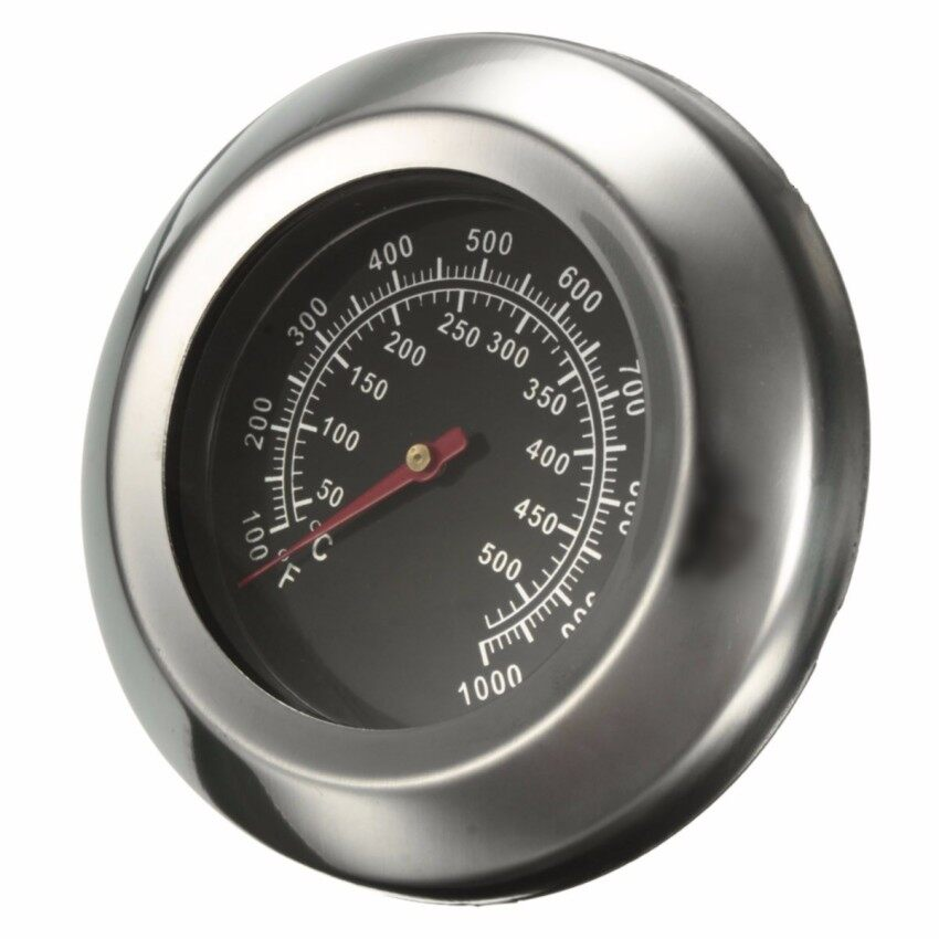 Dia 3quot ℃/℉ 50~500℃ Roast Barbecue BBQ Pit Smoker Grill Thermometer Temp Gauge - Intl