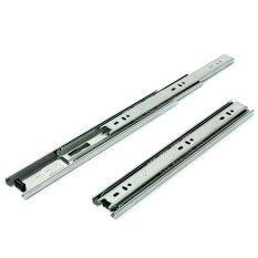 Drawer Runners Groove Ball Bearing Metal Draw Slides 45mm Heavy Duty New ราคา 603 บาท(-53%)