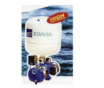 EBARA ปั๊มน้ำ รุ่น COMPACT AM10/PT 750W