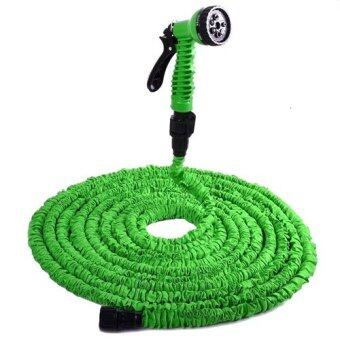 Elastic Hose สายยางยืดหด 15M/50FT Automatically EXPANDS andContracts (Green)