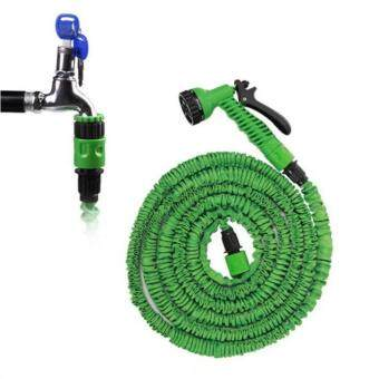 Elastic Hose Water pipe 22.5M/75FT Automatically EXPANDS andContracts (Green)