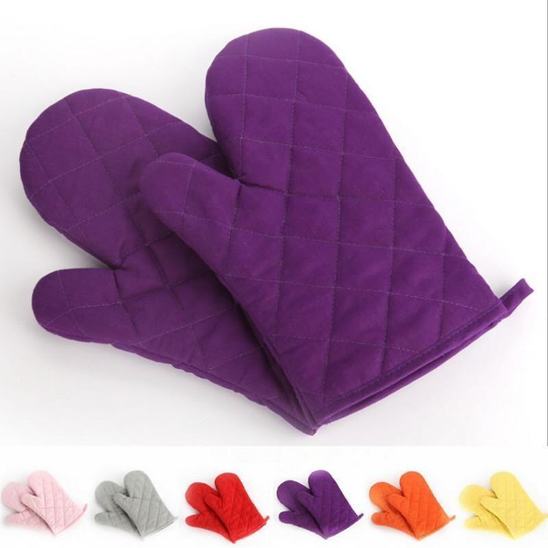 Export manufacturers thick microwave oven gloves special insulation against the hot baki ...