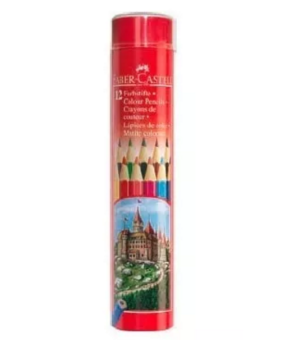 FABER-CASTELL 115826 12 Sets Colors Drawing Pencil Art