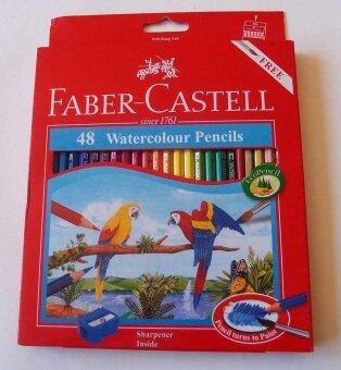 Faber-Castell 48 Watercolour Pencils - intl