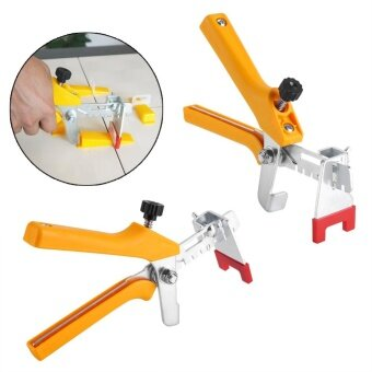 Floor Pliers Tiling Leveling System Ceramic Tiles InstallationTool(Yellow) - intl