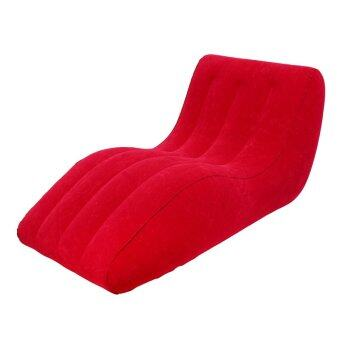 GALAXY เบาะสูบลมโซฟา รุ่น REF-15106 (สีแดง)