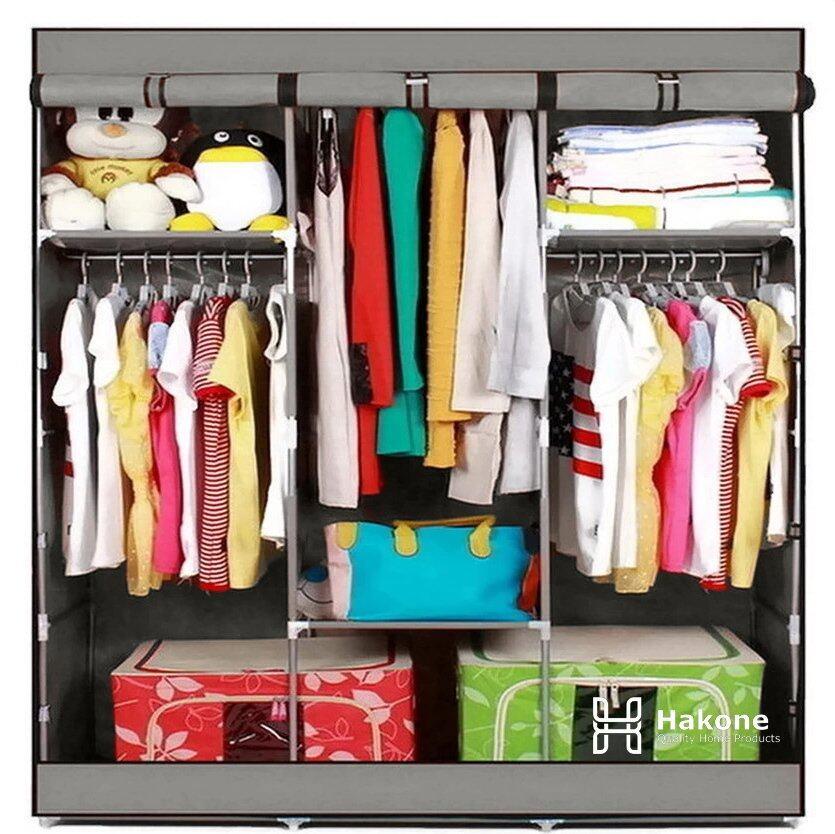 สินค้าแนะนำHakone ตู้เสื้อผ้าญี่ปุ่น 3 บล็อค (สีเทา) ไม่แพง