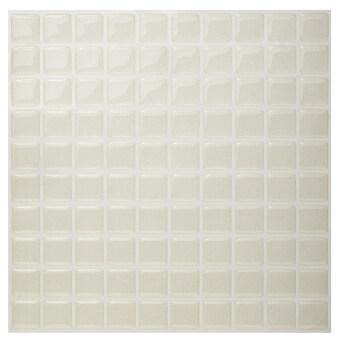 Hanhwa L&C Bodaq D.I.Y Tile Sheet SQP03 Square Style Pack of 10 (Pearl Ivory) - Intl