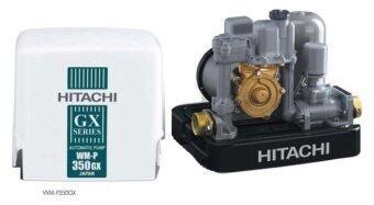 HITACHI ปั้มน้ำชนิดแรงดันคงที่บ่อน้ำตื้น/น้ำประปา 350W รุ่น WM-P350GX