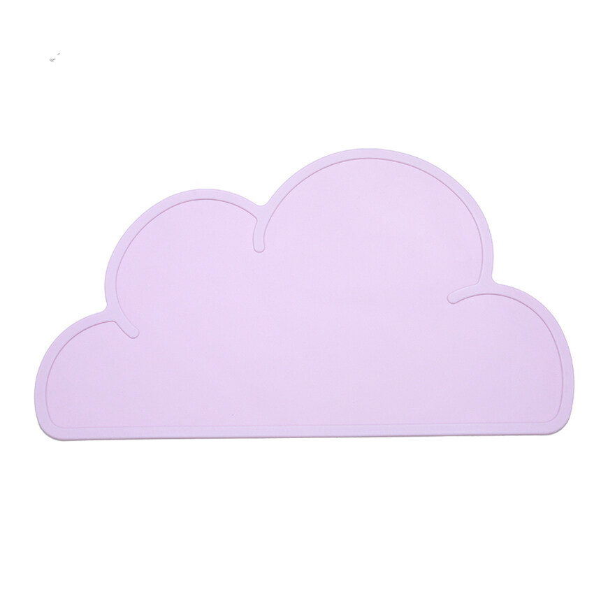 HL Clouds Silicon Insulation Kitchen Mat Table Mat Cover Pink - intl