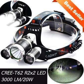 Hot item LED Headlight Glare Charging ไฟฉายสวมหัวแบบชาร์ท 20W (Black Series)