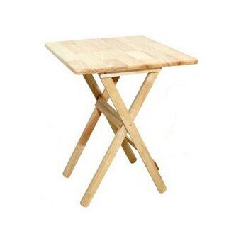 Intrend design coffee table d i y tpw 60x60 para wood for Table 60x60 design