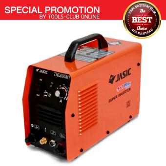 JASICเครื่องเชื่อมอินเวิร์ทเตอร์ ระบบTIG/MMAรุ่นTIG200MTสีส้ม