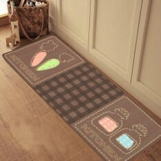 Jhs Original Dark-Dirty Kitchen Long Mats Absorbent Non-Slip Creativecute Anti-Oil Warm Door Feet Mat - Intl ราคา 930 บาท(-24%)