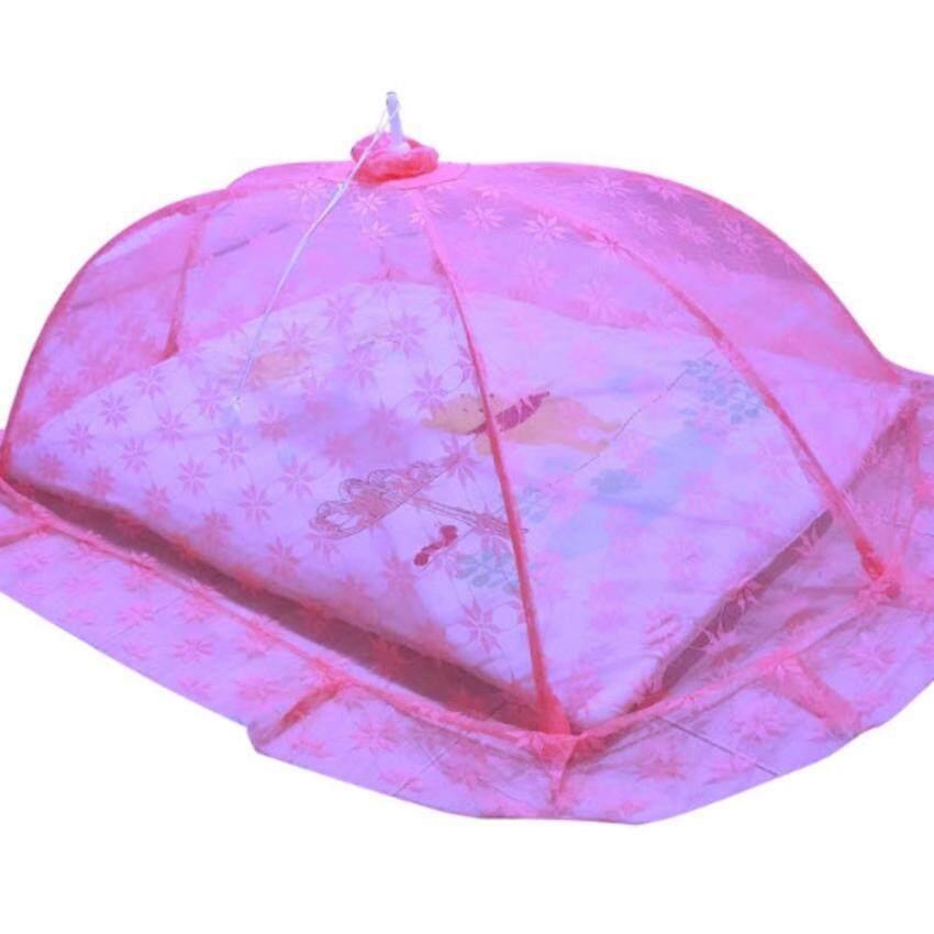 kingnon มุ้งครอบทารกกันยุง (ไซส์ขนาด M ) ยาว115cm กว้าง60cm สูง40 cm. ใช้กันยุงและแมลงต่าง ๆ