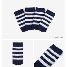 Knit 4pcs Chair Leg Foot Cover Anti Non Slip Noise Prevention 4.5x10cm - Intl ราคา 165 บาท(-17%)