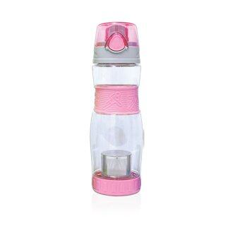 Koorkinoor ขวดน้ำดื่มสำหรับชงชา รุ่น HTE621 (สีชมพู)