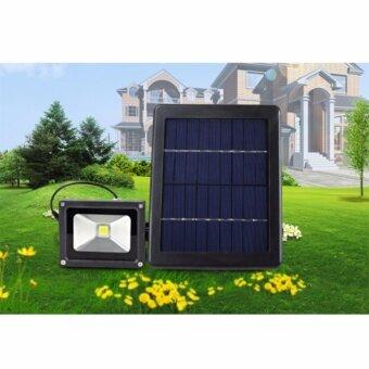 Light Farmโคมไฟพลังงานแสงอาทิตย์ สปอร์ตไลท์โซล่าเซลล์ รุ่น 3 Watt พลังงานแสงอาทิตย์ แพ็ค 1 ชุด