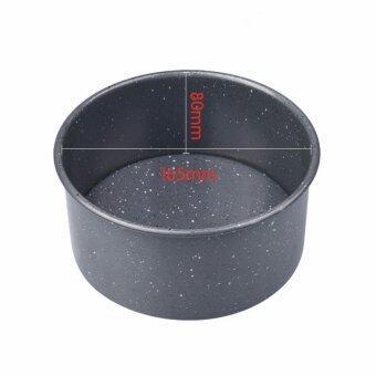 "Marble stripe 6"" circular flexible bottom Home baking pan"