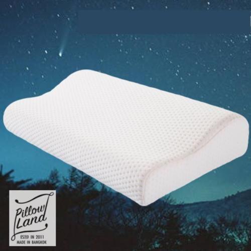 Pillow Land หมอนหนุนเพื่อสุขภาพ ใยไผ่ Bamboo Fiber
