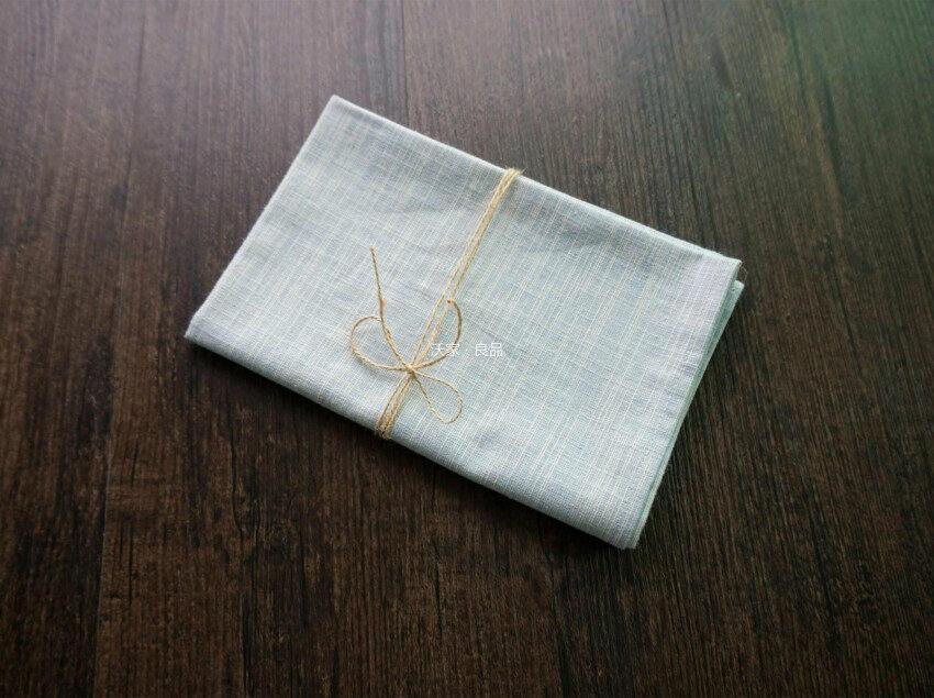 ผ้าฝ้ายธรรมดาลายตะวันตกผ้าปูโต๊ะ placemat