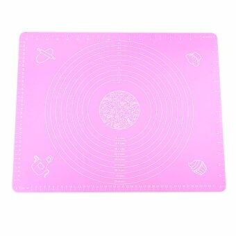 Silica Gel Resistence To High Temperature Rolling Baking Mat Withmeasurements (Pink) Praticaluff01 - intl