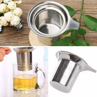 Stainless Steel Mesh Tea Infuser Reusable Strainer Loose Tea Leaf Spice Filter SB-1070