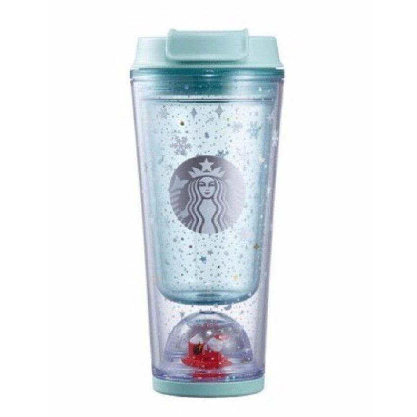Starbucks Christmas 2016 Love Holiday Celebration Sunny Water Bottle Couple Clear Coffee .