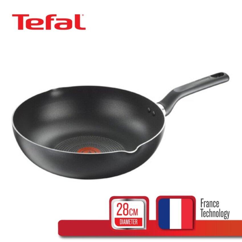 Tefal กระทะก้นลึก+ขอบหยัก 28 ซม. รุ่น Super Cook B1436614