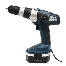 [Tool N Tool] Korea No.1 18V Cordless Hammer Drill / TNT-KJ18 / Rechargeable LED / screwdriver / drill bit 6set/ cordless Hammer Drill siries - intl ถูกๆ