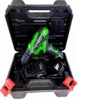 Tools Pro BOHONG สว่านไฟฟ้าไร้สาย ขนาด12V. พร้อมแบตเตอรี่ 2 ก้อน