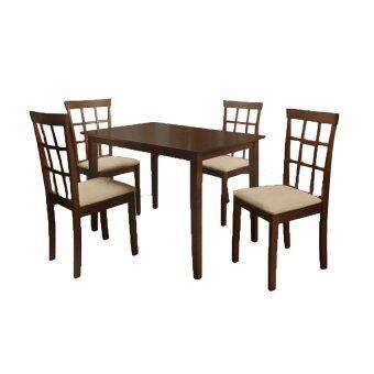 TSF ชุดโต๊ะอาหารไม้ 4 ที่นั่ง รุ่น HELENA