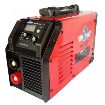 WELPRO ตู้เชื่อมหูหิ้ว160A. synergic inverter รุ่น WELARC160S (สีแดง)