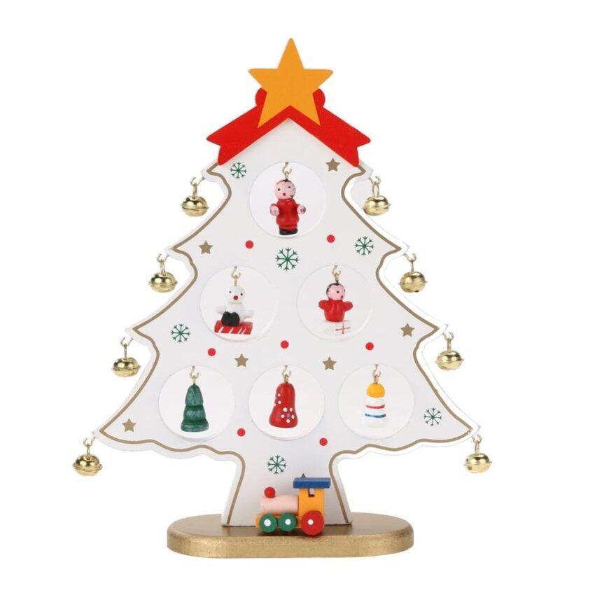 WoodChrita Tree Hoe Decoration Ornaent (White) ...