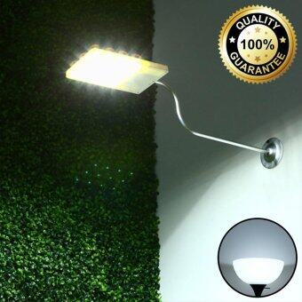 XML-Solar โคมไฟโซล่าเซลล์  12 LED (พร้อมขายึด) (เเสง : ขาว)