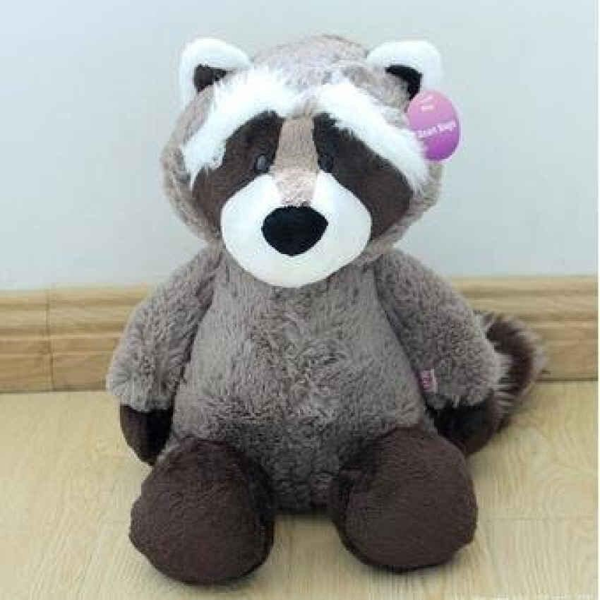 1Pc 25Cm Nici Coon Bear Plush Toys Stuffed Raccoon Plush Dolls Cuteanimal Toys Kids Doll ...