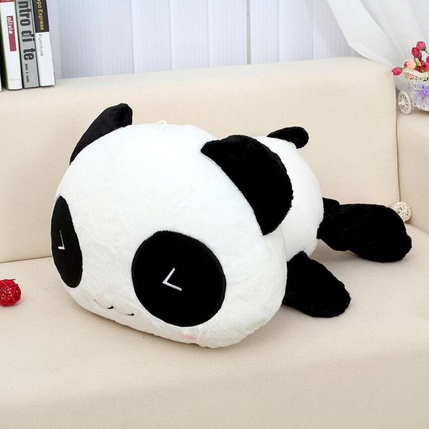 หมีแพนด้าน่ารักของขวัญตุ๊กตาสัตว์ยัดไส้ตุ๊กตาผ้าปลอกหมอนหนุน 25ซม ...