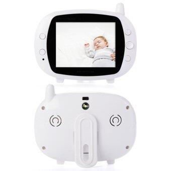 "3.5"" Wireless Digital LCD Screen Video Baby Monitor Camera EU Plug"