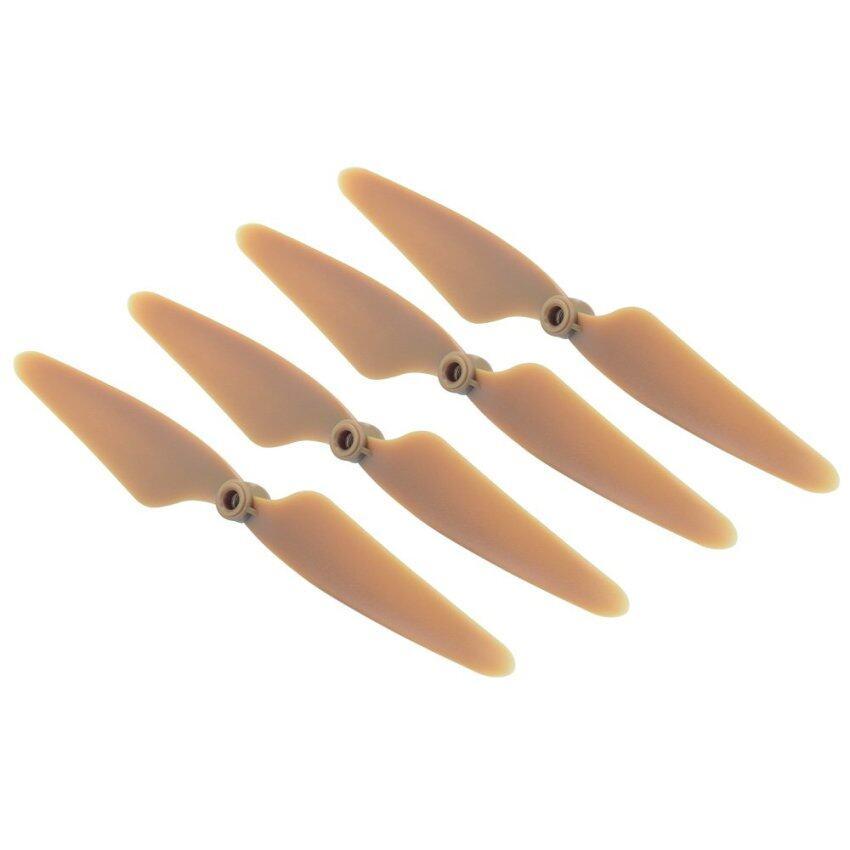ใบพัดโดรน 4 ชิ้น พลาสติก ABS CW CCW Spare อะไหล่เปลี่ยน สำหรับ Hubsan H501S Drone